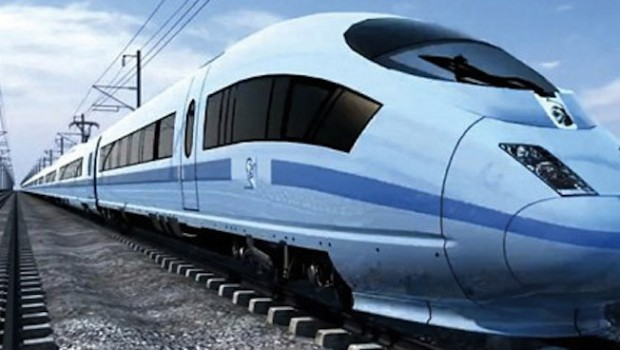How the HS2 train might look. Illustration  HS2 Ltd