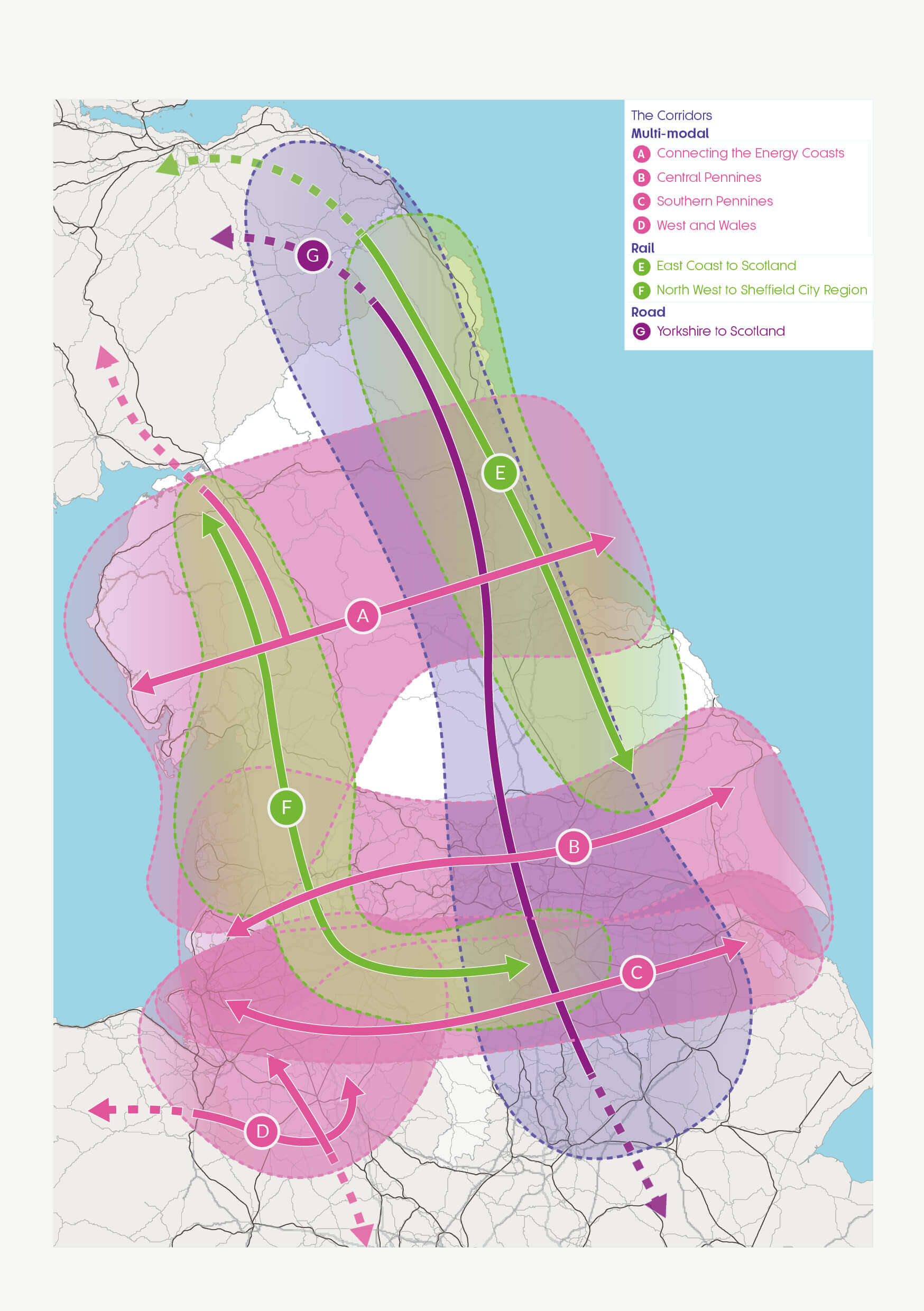 TfN separate consultation on Strategic Developments Corridors